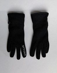 Spyder Fleece Conduct Ski Gloves Black