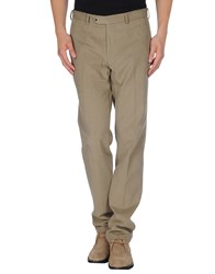 Luigi Bianchi Mantova Trousers Casual Trousers Men Khaki