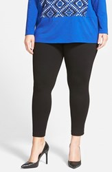Plus Size Women's Two By Vince Camuto Leggings Rich Black