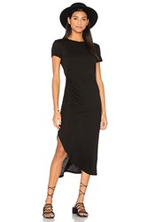 Stateside Short Sleeve Maxi Dress Black