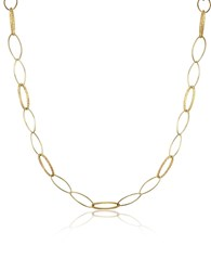 Torrini Marina 18K Yellow Gold Oval Link Necklace