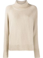 Nili Lotan Roll Neck Sweater Neutrals