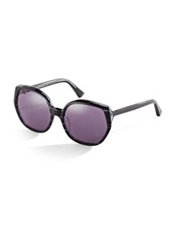 House Of Harlow Donnie 56Mm Round Sunglasses Black