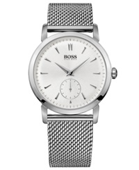 Hugo Boss Watch Men's Stainless Steel Mesh Bracelet 40Mm Hb1013 1512778