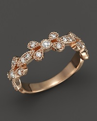 Kc Designs Diamond Stackable Band In 14K Rose Gold .30 Ct. T.W. Pink