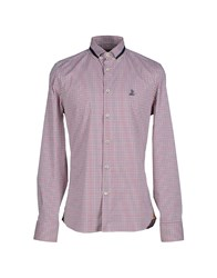 Alviero Martini 1A Classe Shirts Shirts Men Red