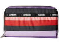 Le Sport Sac Lily Wide Ruled Checkbook Wallet Multi
