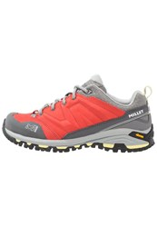 Millet Hike Up Hiking Shoes Hibiscus Light Red