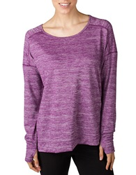 Jockey Jersey Tunic Top Red Violet