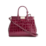 Aspinal Of London Women's Dockery Snap Bag Small Tote Bag Bordeaux