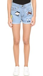 Paul And Joe Sister Looney Toons Shorts Denim