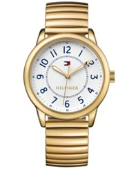 Tommy Hilfiger Women's Table Gold Ion Plated Stainless Steel Bracelet Watch 36Mm 1781682