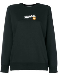 Nike 'Just Do It' Sweatshirt Black