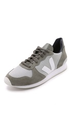 Veja Holiday Mesh Sneakers Silver Grey White