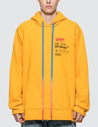 Off White Industrial Y013 Incomp Hoodie Yellow