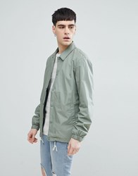 Selected Homme Coach Jacket Green