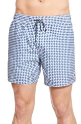 Ted Baker London 'Raqball' Print Swim Trunks