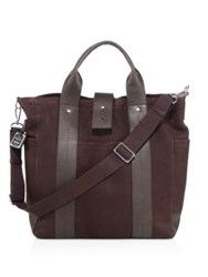 Shinola Commuter Leather Tote Deep Brown