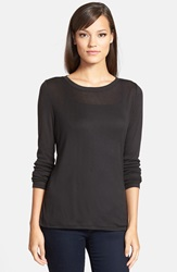 Trouve Layering Tee Black