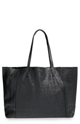Junior Women's Street Level Slouchy Leather Tote