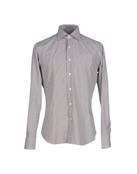 Mastai Ferretti Shirts Shirts Men Dark Brown