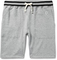 Todd Snyder Champion Loopback Cotton Jersey Shorts Gray