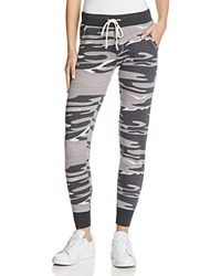 Alternative Apparel Eco Fleece Camo Joggers Grey Camo