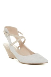 Belle By Sigerson Morrison Wallace Wedge Gray