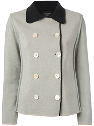 Jean Paul Gaultier Vintage Lame Boucle Jacket Grey