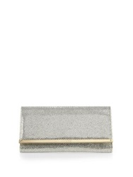 Jimmy Choo Maia Sparkle Fabric Clutch Champagne