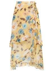 Clube Bossa Sania Printed Skirt Yellow