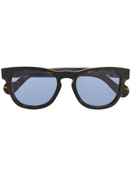 Moncler Eyewear Square Sunglasses Brown