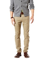Dockers Alpha Skinny Fit Twill Trousers New British Khaki