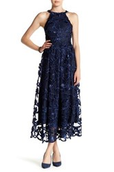 Eva Franco Jenna Maxi Dress Blue