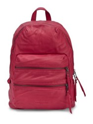 Liebeskind Saku Leather Backpack Cherry Red