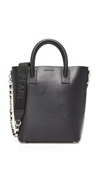 Mother Of Pearl Mini Tote Black