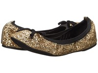 Michael Antonio Pearl Glitter Gold Women's Flat Shoes