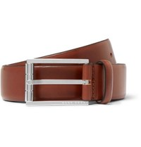 Hugo Boss 3.5Cm Brown Coris Leather Belt Brown