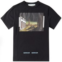 Off White Silvr Chirico Tee Black