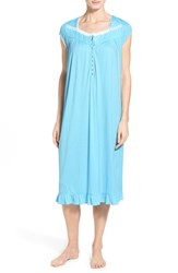 Women's Eileen West 'Agean' Cap Sleeve Ballet Nightgown