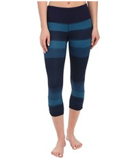 Brooks Greenlight Capris Se River Scape River Women's Capri Blue