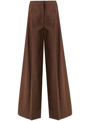 Camilla And Marc Arwen Wide Leg Trousers Brown