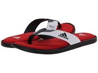 Adidas Viveup Thong Ff Black Scarlet Iron Metallic Men's Slide Shoes White