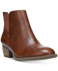 Dr. Scholl's Jorie Pull On Booties Women's Shoes Whiskey
