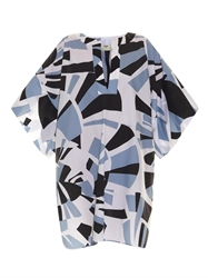 Fendi Pequin Printed Cotton Kaftan