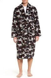 Majestic International Men's Cold Conquest Robe Charcoal Camo