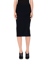 Alberto Biani Skirts 3 4 Length Skirts Women Dark Blue