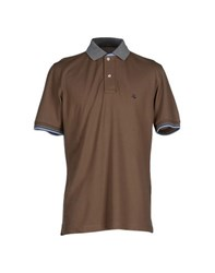Fay Topwear Polo Shirts Men Khaki