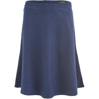 Selected Femme Women's Selma Midi Denim Skirt Dark Blue Denim