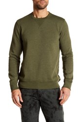 Joe Fresh Long Sleeve Crew Neck Pullover Green